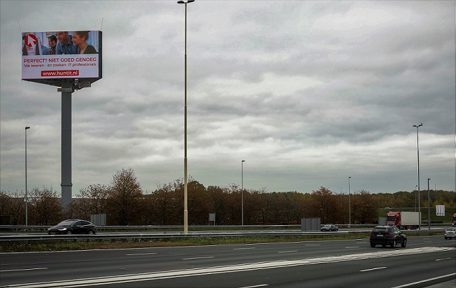 Hunt IT BV reclame langs de snelweg